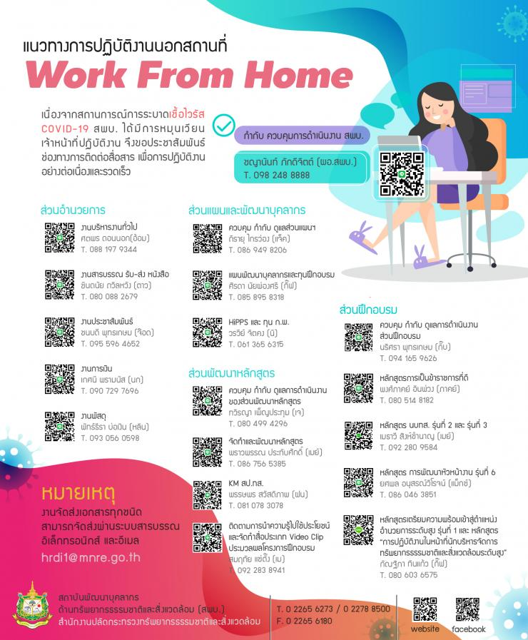 Work form Home