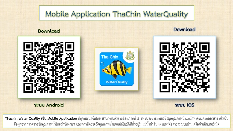 Mobile Application ThaChin WaterQuality