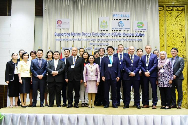 ทส.​ เปิดการประชุมเชิงปฏิบัติการ Joint Inception Workshop for Supporting Marine Debris Reduction in ASEAN Member States ~ Drafting a Regional Action Plan, and Designing National Action Plans – on Marine Debris