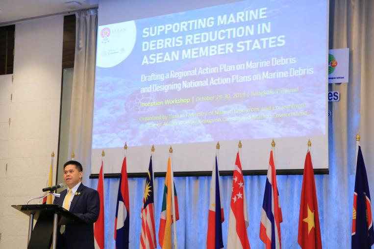 The Ministry of Natural Resources and Environment made the closing remark at the Joint Inception Workshop on Supporting Marine Debris Reduction in ASEAN Member States: Drafting a Regional Action Plan, and Designing National Action Plans on Marine Debris.
