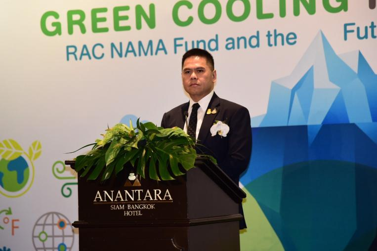 MNRE – EGAT – GIZ celebrated 2 years of success of RAC NAMA Fund to push forward green air condition, refrigerator, and freezer to save energy and reduce global warming.