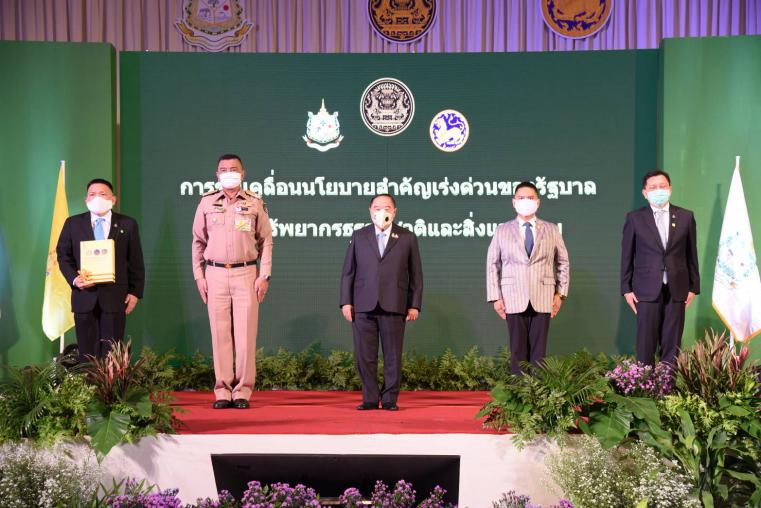 General Prawit ordered the Governors of every province to get faster forest plantation to prevent forest fires and to mitigate the haze problem as well as drive the works regarding natural resources and environment for people