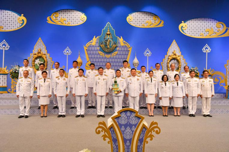 MNRE joined the video recording of blessing to Her Majesty Queen Sirikit The Queen Mother