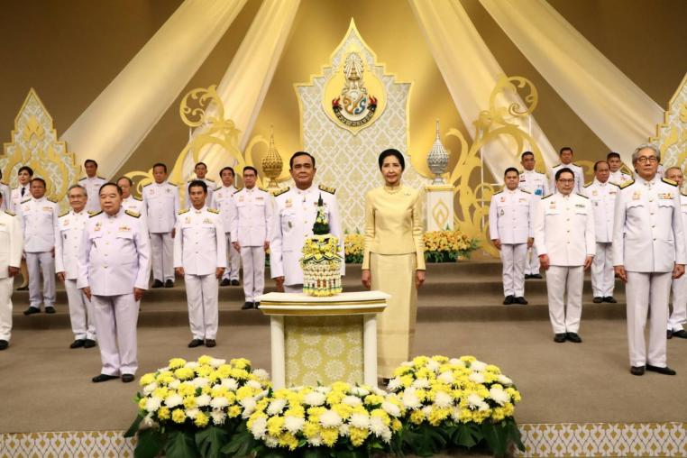 MNRE joins the video recording of a blessing on Coronation Day